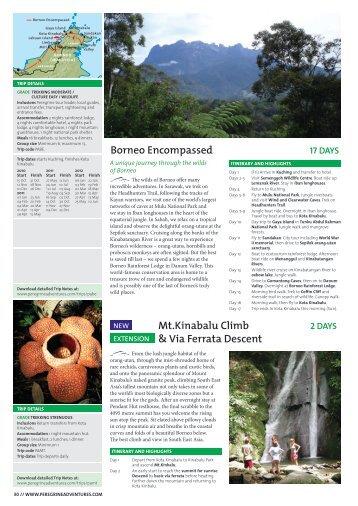 Borneo Encompassed Mt.Kinabalu Climb & Via Ferrata Descent