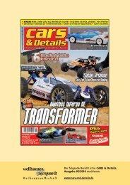 Der folgende Bericht ist in CARS & Details, Ausgabe 02/2010 - Kyosho