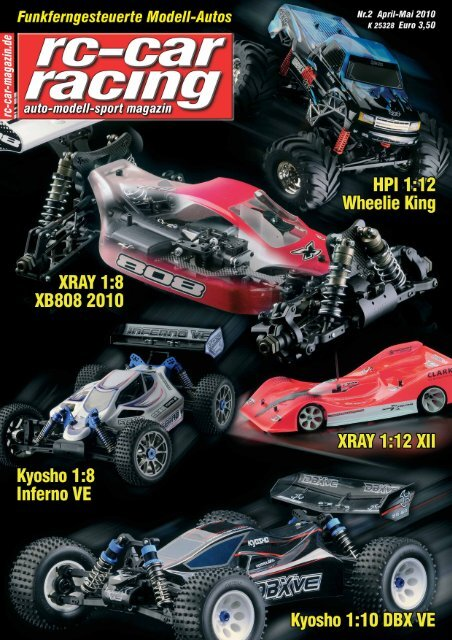 Lieferumfang Kyosho Inferno VE