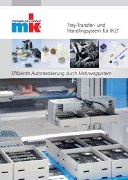 Tray-Transfer- und Handlingsystem für IKLT - mk Technology Group