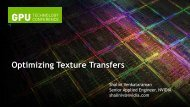 Optimized Texture Transfers - GPU Technology Conference 2012