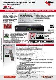 TR 40 HD - Triax