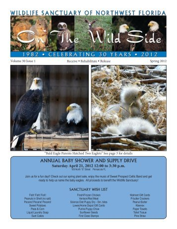 annual baby shower and supply drive - Wildlife Sanctuary of ...