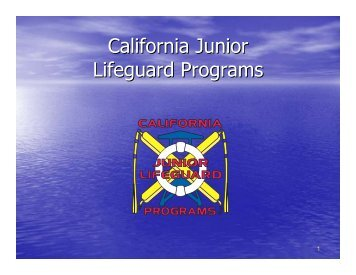 California Junior Lifeguard Programs - OC Public Libraries - Orange ...