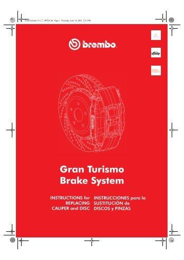 Gran Turismo Brake System - Stealth 316