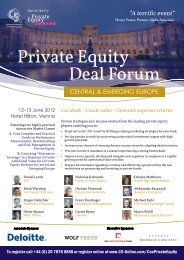 Private Equity Deal Forum - C5