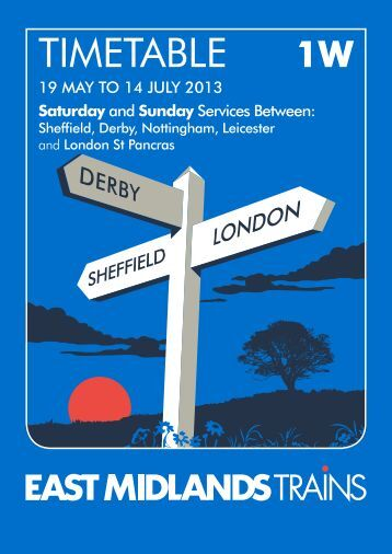 Weekend Services - East Midlands Trains