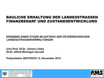 Ing. Dr. Johann LITZKA - Gestrata