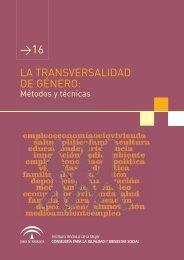 Módulo 16.- La Transversalidad de Género: Métodos y técnicas