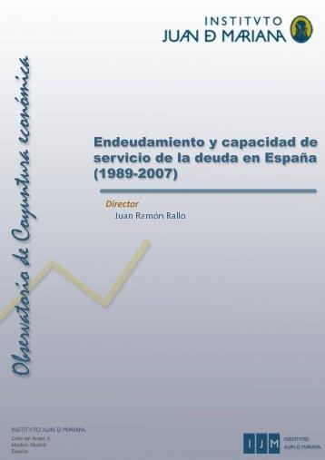 Descargar el estudio en PDF - Instituto Juan de Mariana