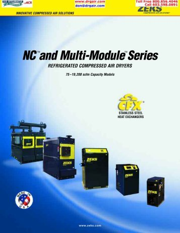 NCTMand Multi-ModuleTMSeries - D.R. Guilbeault Air Compressor