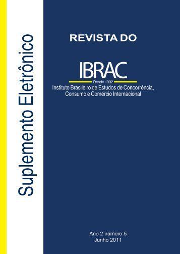 Suplemento Revista do Ibrac 05 2011