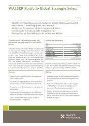 WALSER Portfolio Global Strategie Select 1|3