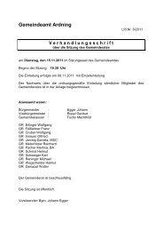 Protokoll 6-2011 - Ardning