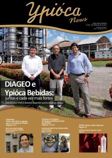 Edição Especial DIAGEO Nº XIX – Abril/Maio/Junho de 2012 - Ypióca
