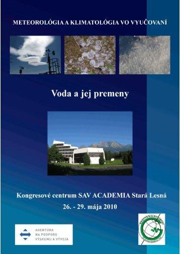 zborník príspevkov - Astronomický ústav SAV