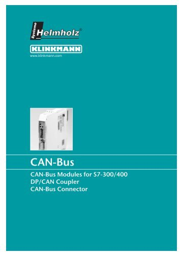 CAN-Bus - Klinkmann.
