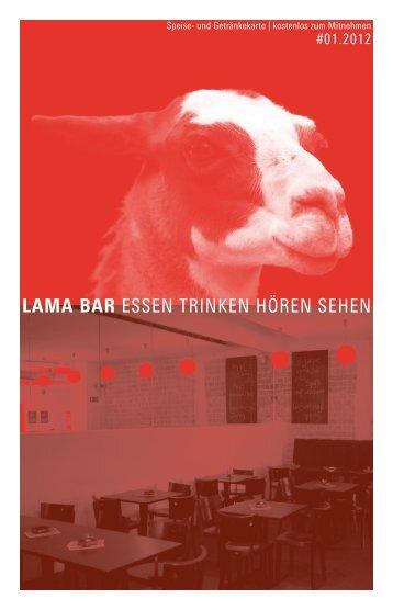 aktuelle Ausgabe des LAMA Magazins als PDF - Lama Bar