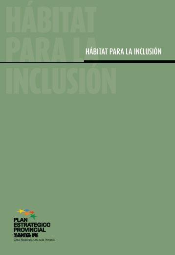 Hábitat para la inclusión - Gobierno de la Provincia de Santa Fe