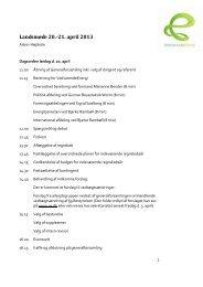 Landsmøde 20.-21. april 2013 - Energitjenesten