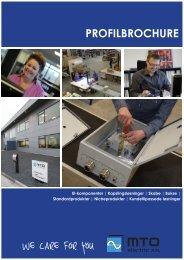 Profilbrochure - MTO electric A/S