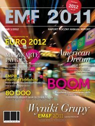 Raport Roczny 2011 - Empik Media & Fashion