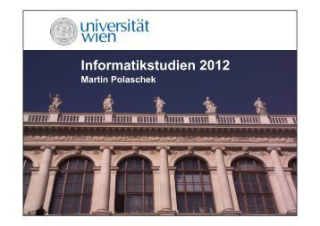 Download Präsentation - Universität Wien
