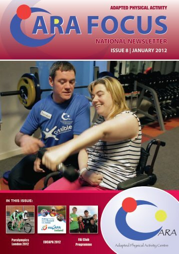 Issue 8 - CARA Adapted Physical Activity Centre