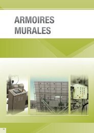 Accessoires Armoires murales - Electropoint Distribution SA