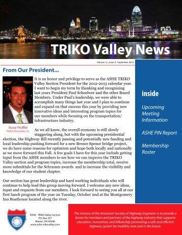 Sept Newsletter - ASHE-TrikoValley