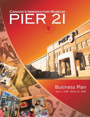 Business Plan - Pier 21