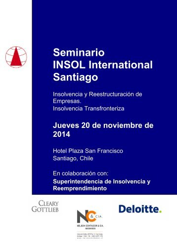 Registration Brochure (Spanish) 6 August 2014