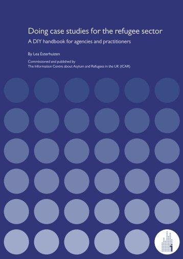 Doing case studies for the refugee sector: A DIY handbook ... - ICAR