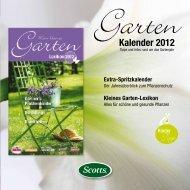 Kalender 2012 - Home | Scotts Celaflor Liebe Deinen Garten