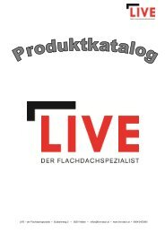 LIVE Produkt Katalog Kärnten Stand 25.07.2013 - Live-Dach