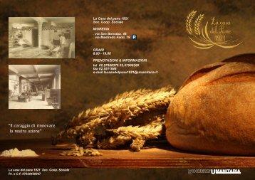 brochure casa del pane
