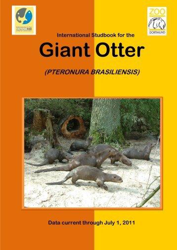 International Giant Otter Studbook - Otter Specialist Group