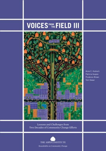 VOICESFROM THE FIELD III - The Canadian CED Network