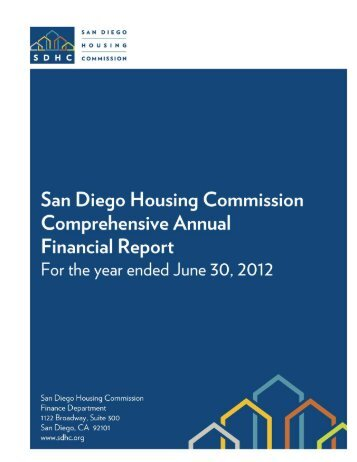 2012 Annual Financial Report - San Diego Housing Commission