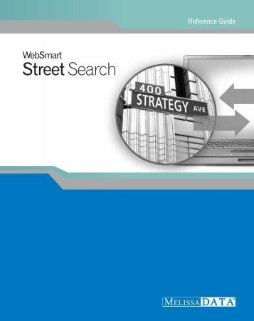 Street Search - Melissa Data