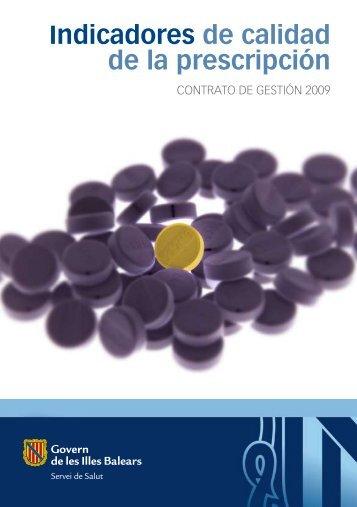 Indicadores de calidad de la prescripción - El Comprimido