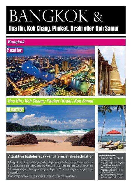 Hua Hin, Koh Chang, Phuket, Krabi eller Koh Samui - Jesper Hannibal