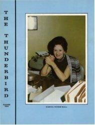 Summer 1974 - Thunderbird Magazine