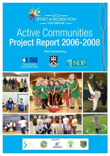 Active Communities Report 2006-2008 - Sligo Sport and Recreation ...