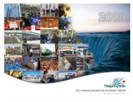 2010 | annual business development report - Niagara Falls, Ontario ...