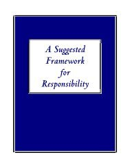 A Suggested Framework for Responsibility (pdf version) - ICAP