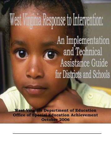 West Virginia Department of Education Office of Special ... - ROE #13