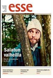 Esse 17/2012 (pdf) - Espoon seurakuntasanomat