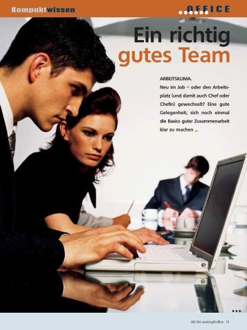 Artikel im PDF Format - TOP Training für Office Management und ...