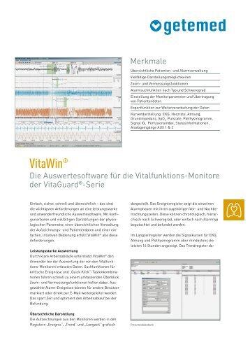 Prospekt VitaWin - HABEL Medizintechnik